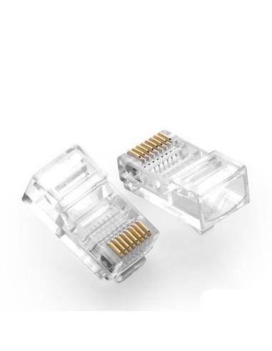 RJ45 Standard Cat6 Crimp Plug -...