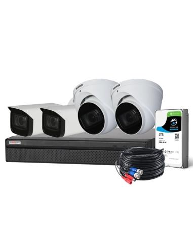 Watchguard 8MP Compact 8Ch 4Cam HDCVI...
