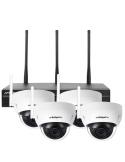 Watchguard 3.0MP Pro-Series WiFi 4 Ch Dome Wireless IP Surveillance Kit