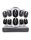 Swann 2MP 16Ch DVR-4580 inc 1TB HDD & 10 x 1080p Thermal Sensing Spot Light Cams