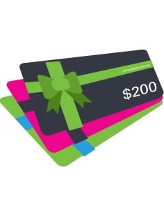 CCTV $200 Gift Voucher for InFront Technologies