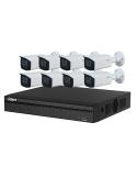 Dahua 4MP 8 Channel IP 8 x Motorised Bullet Bundle Kit - KIT-DH-4MP8MB8