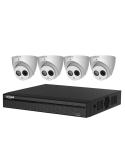 Dahua 6MP 4 Channel IP Bundle Turret Kit - KIT-DH-NVR4104-2TB_HDW4631X4