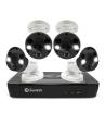 Swann 5MP SWNVK-875804FB 2TB with 4xNHD-865MSFB Spotlight Security Cams w Audio