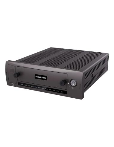 Securview 4 Ch Mobile HDCVI Recorder...