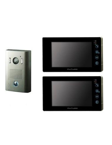 Futuro 2x SD4B Video Intercom BLACK...
