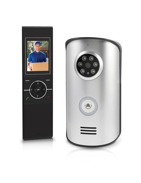 """Swann SWWHD-DP890C Wireless Intercom with Doorbell & 2.4"""" Video Doorphone"""