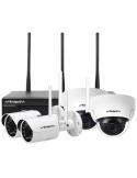 Watchguard 3MP Pro-Series WiFi 4 Channel Wireless IP Surveillance Kit