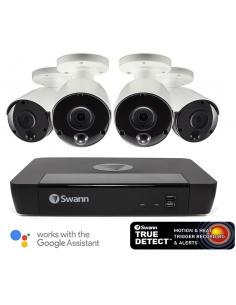 Swann 5MP SWNVK-875804 2TB 4x NHD-865MSB True Detect Cams w Audio