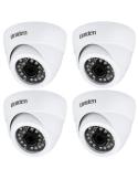 Uniden 2MP CVI 4PK GDCH01M Metal Dome Security Camera Suit Uniden GCVR BNC+12V