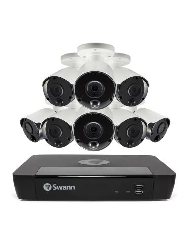 Swann 5MP SWNVK-875808 SuperHD 2TB 8x NHD-865MSB Thermal Sensing Cam w Audio