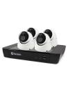 Swann 5MP SWNVK-875804D 4K NVR 4xNHD-866MSD True Detect Security Cameras w Audio