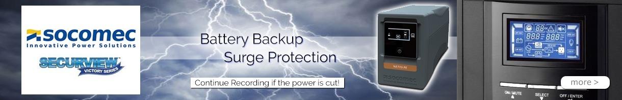Socomec UPS Battery CCTV Backup NETYS Security Battery